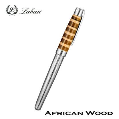 Laban African Wood Roller Ball