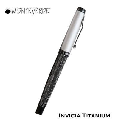 Monteverde Invicia Titanium Roller Pen