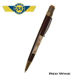 Retro51 Red Wine Roller Ball