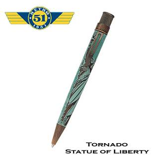 Retro51 Liberty Statue Roller Pen