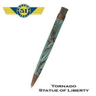 Retro51 Liberty Statue Roller Pen