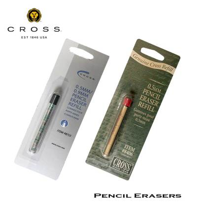 Cross Pencil Erasers