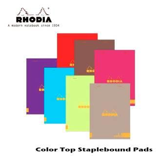 Rhodia Color Staple Bound Pad 6 X 8