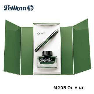 Pelikan M205 Olivine Fountain Pen