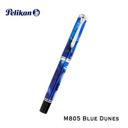 Pelikan M-805 Blue Dunes Fountain Pen