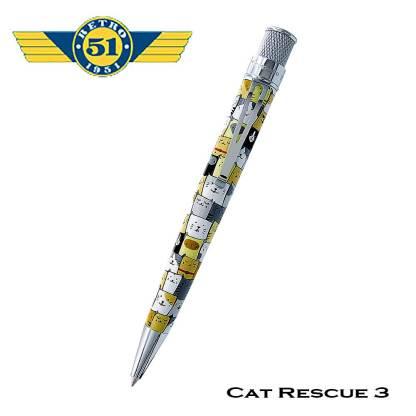 Retro51 Cat Rescue Rollerball