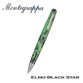 Elmo Black Star Ballpoint
