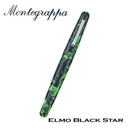 Montegrappa Elmo Black Star Closed Fountain Pen