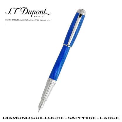 Dupont Diamond Guilloche Stylo