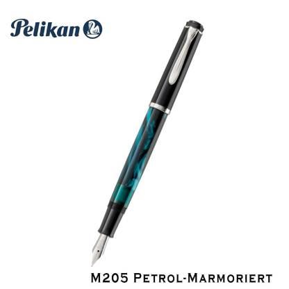 Pelikan M205 Petrol Marmoriert Fountain Pen