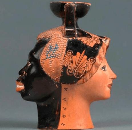 Black Athena Statue