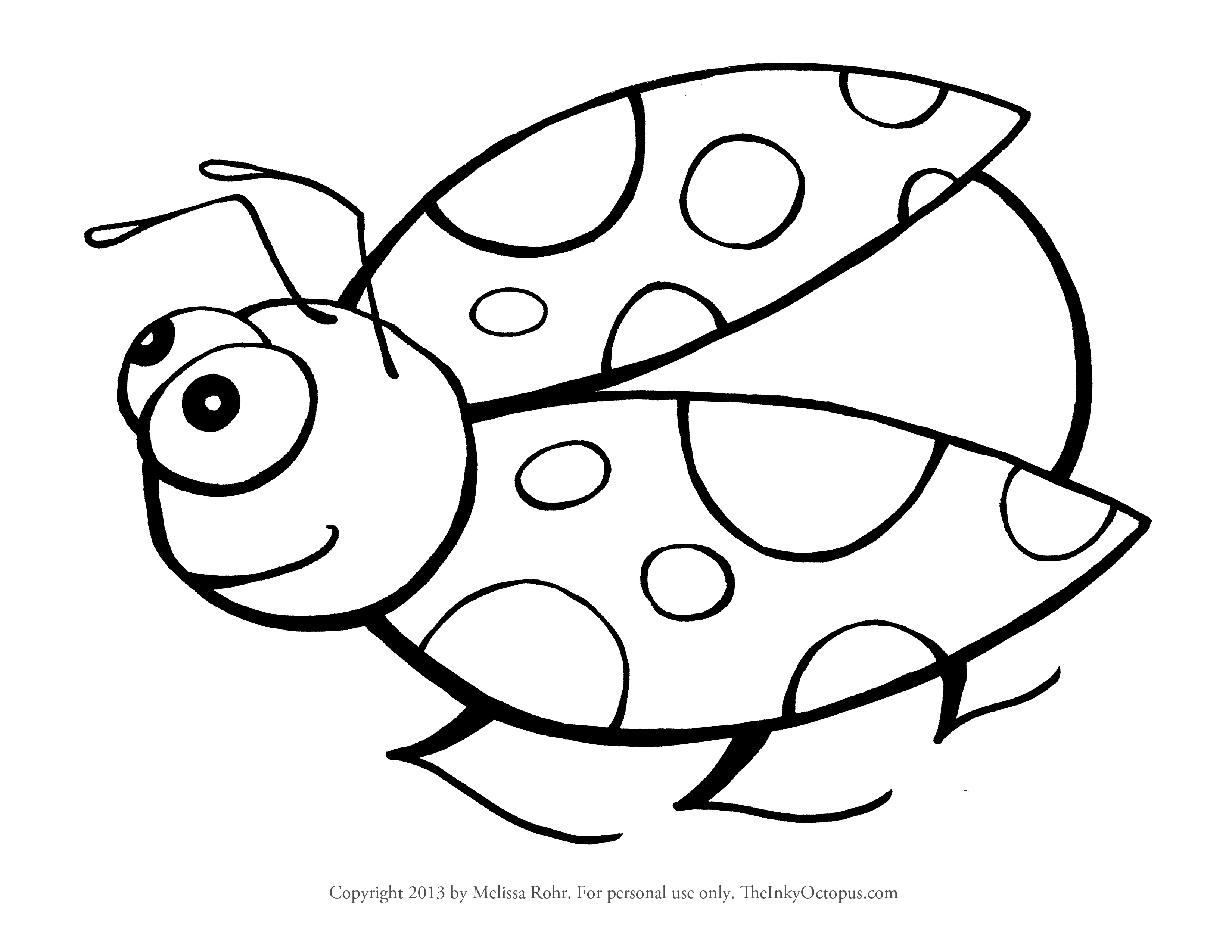 lady bug coloring page cooloring com
