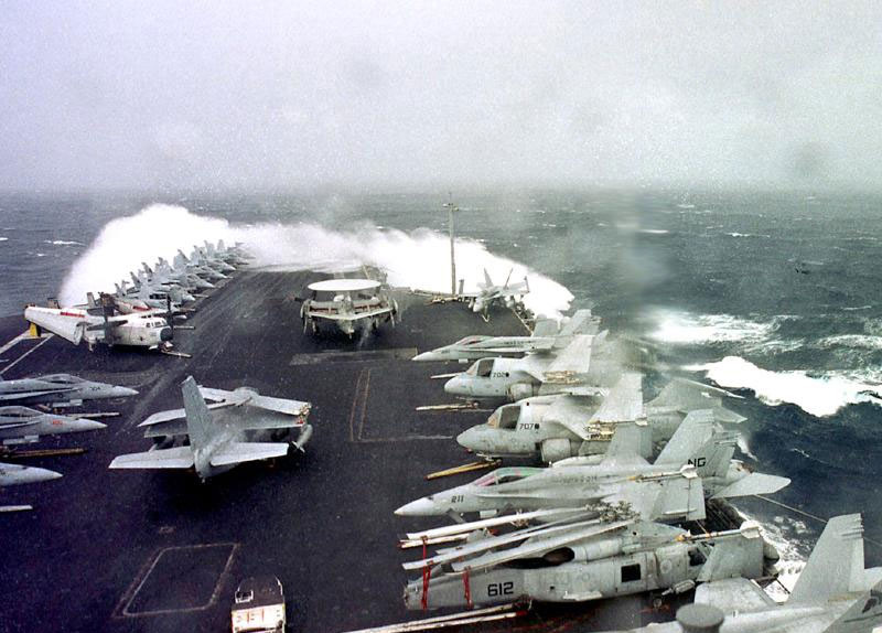 Carrier in Heavy Weather