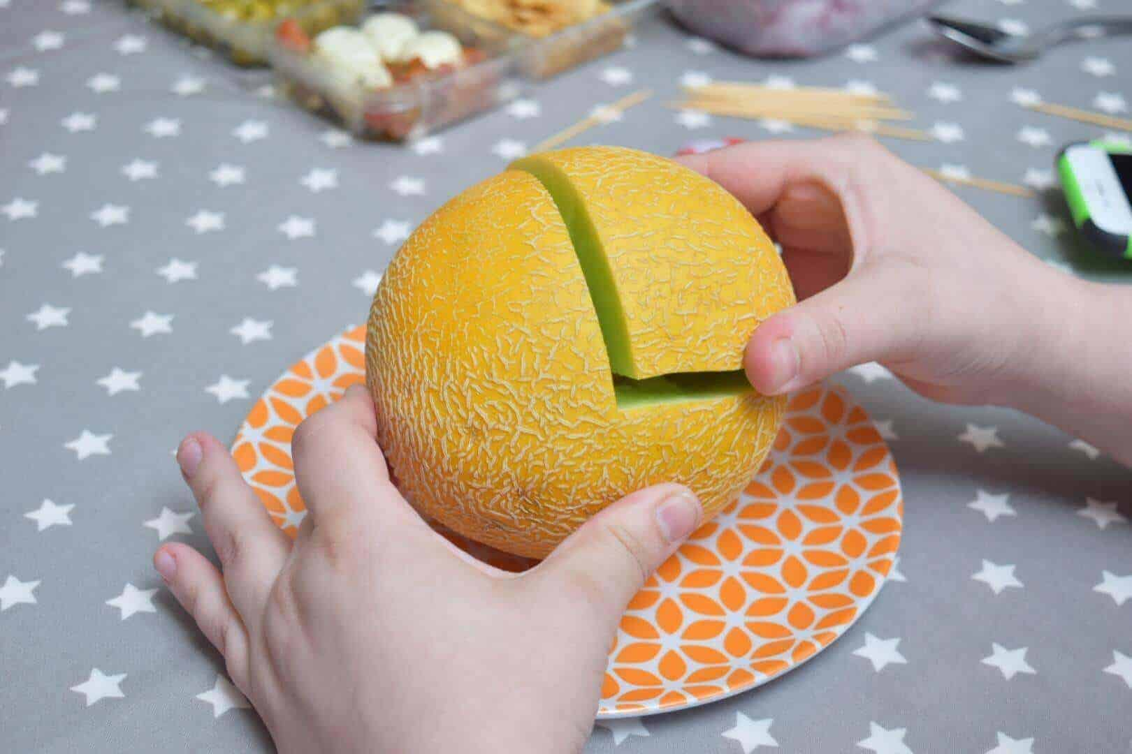 Carving Melon