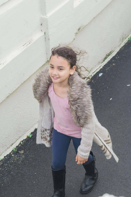 Sylvia walking