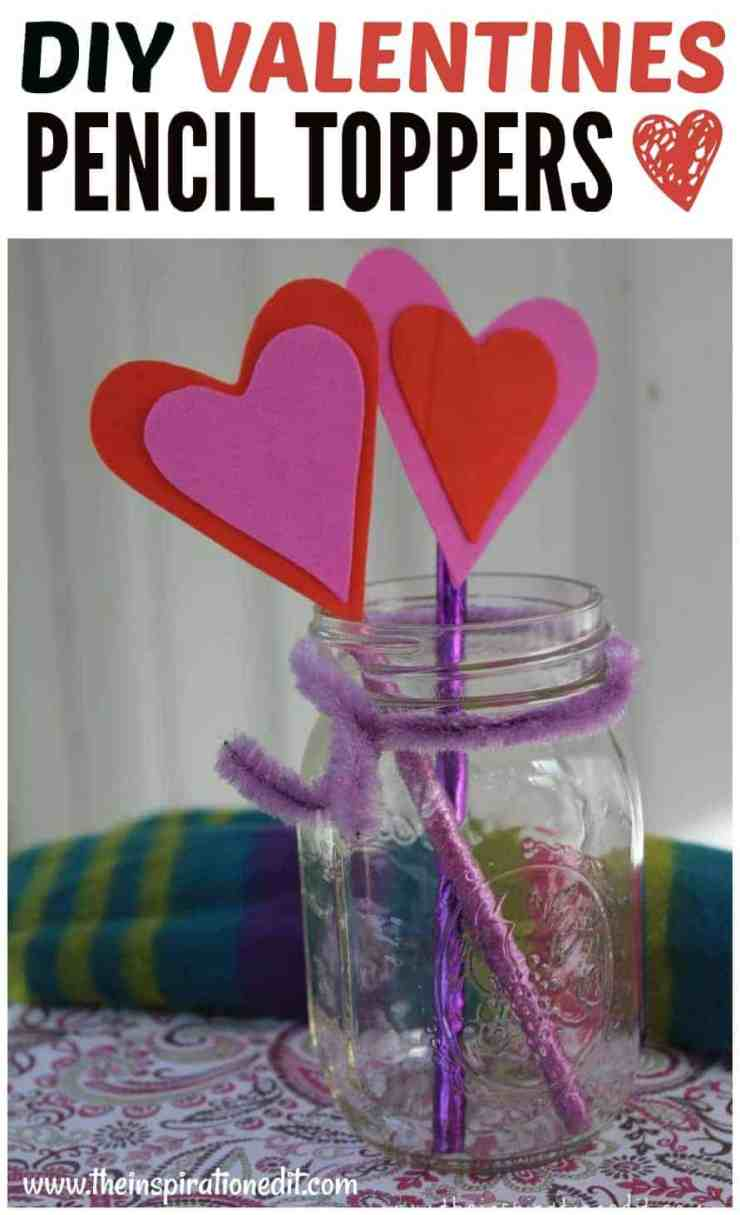 PicMonkey Image 36 - Heart Pencil Toppers Valentines Craft For Kids