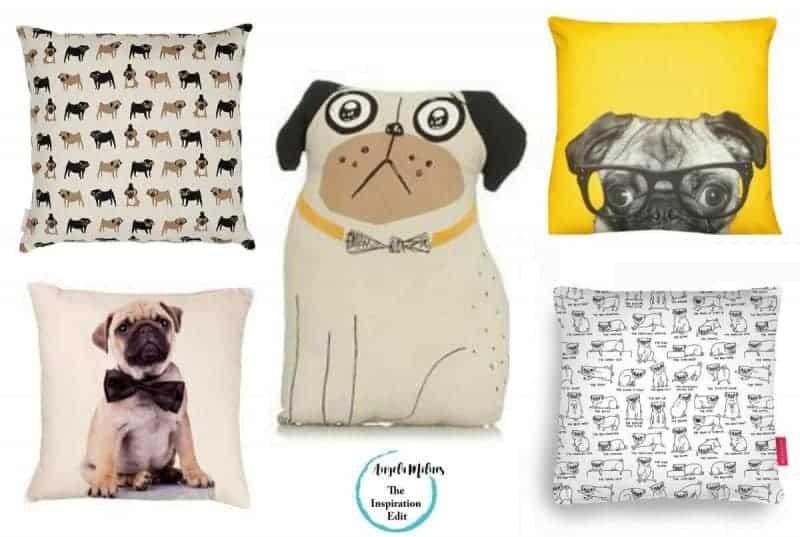 pug cushions