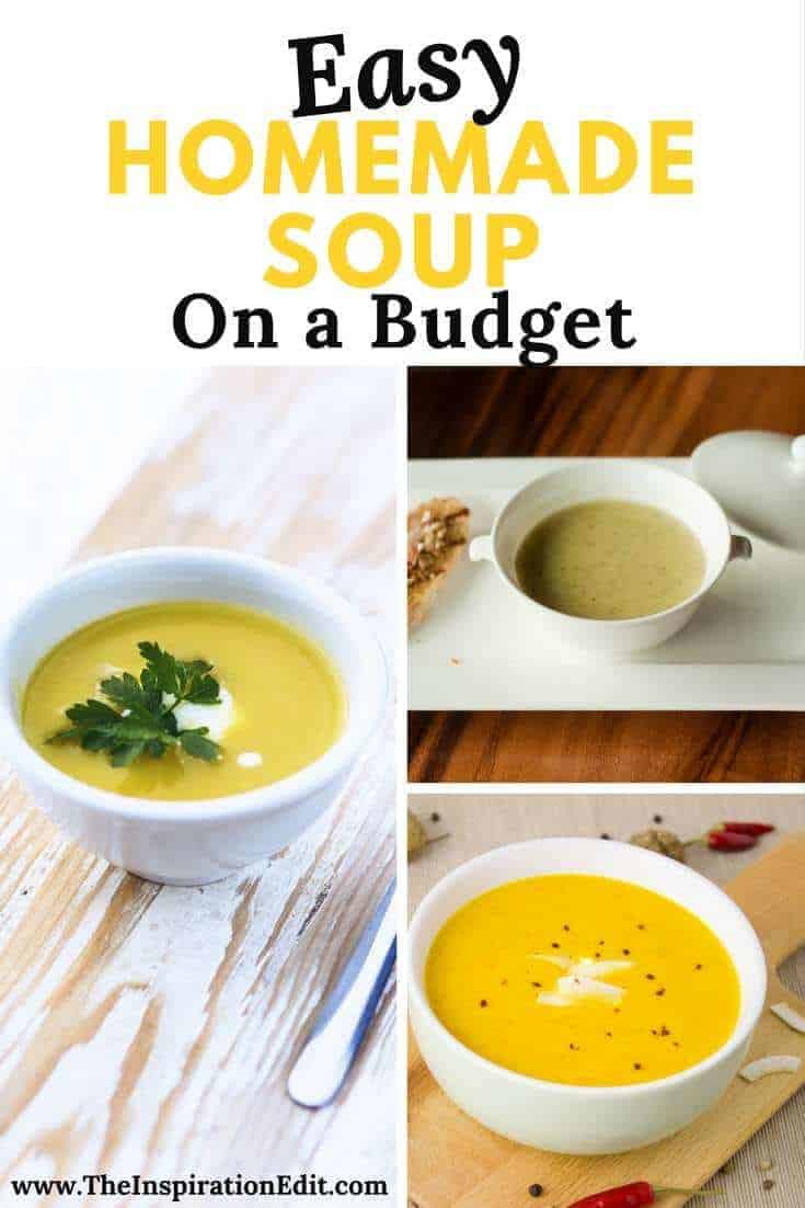 Try our budget recipe for Easy Homemade Potato Soup.