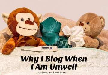 blogging with chronic illness