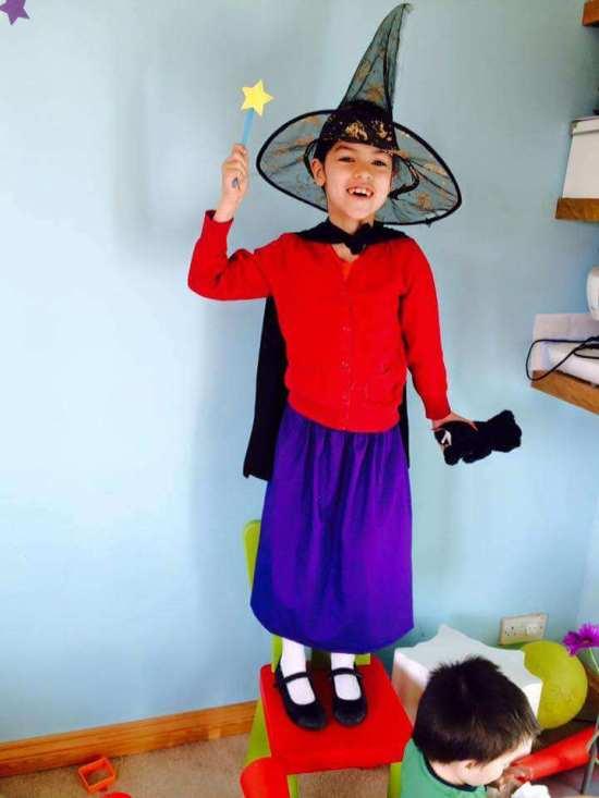 room on a broom costume