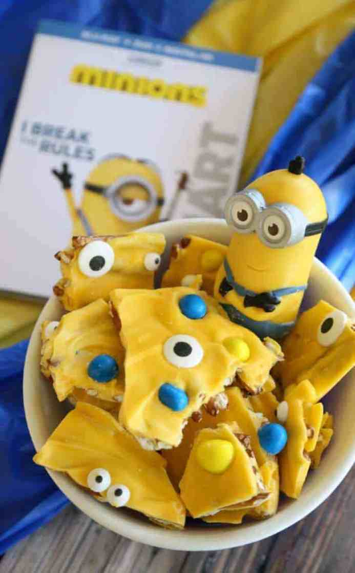minions party food ideas for minion fans