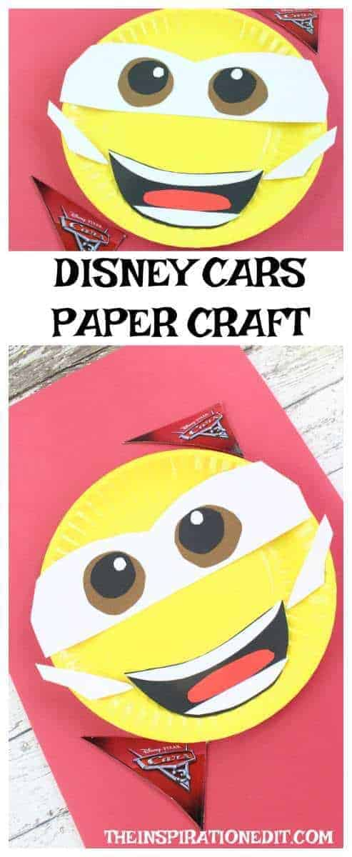 DISNEY CARS 3 CRAFT