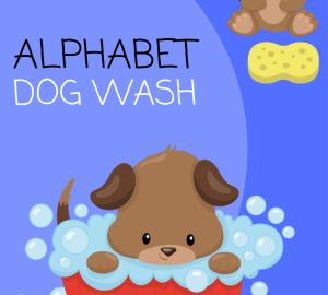 Alphabet Dog Wash