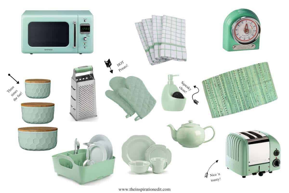 Cute Mint Green Kitchen Ideas For The Home · The Inspiration Edit