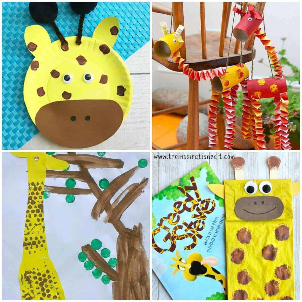 Easy Giraffe Bookmark 8. Paper Plate Giraffe 9. DIY Giraffe Growth Chart 10. Easy Giraffe Bookmark Corner 11. Paper Bag Giraffe Craft  sc 1 st  The Inspiration Edit & 13 Fantastic Giraffe Crafts For Kids · The Inspiration Edit