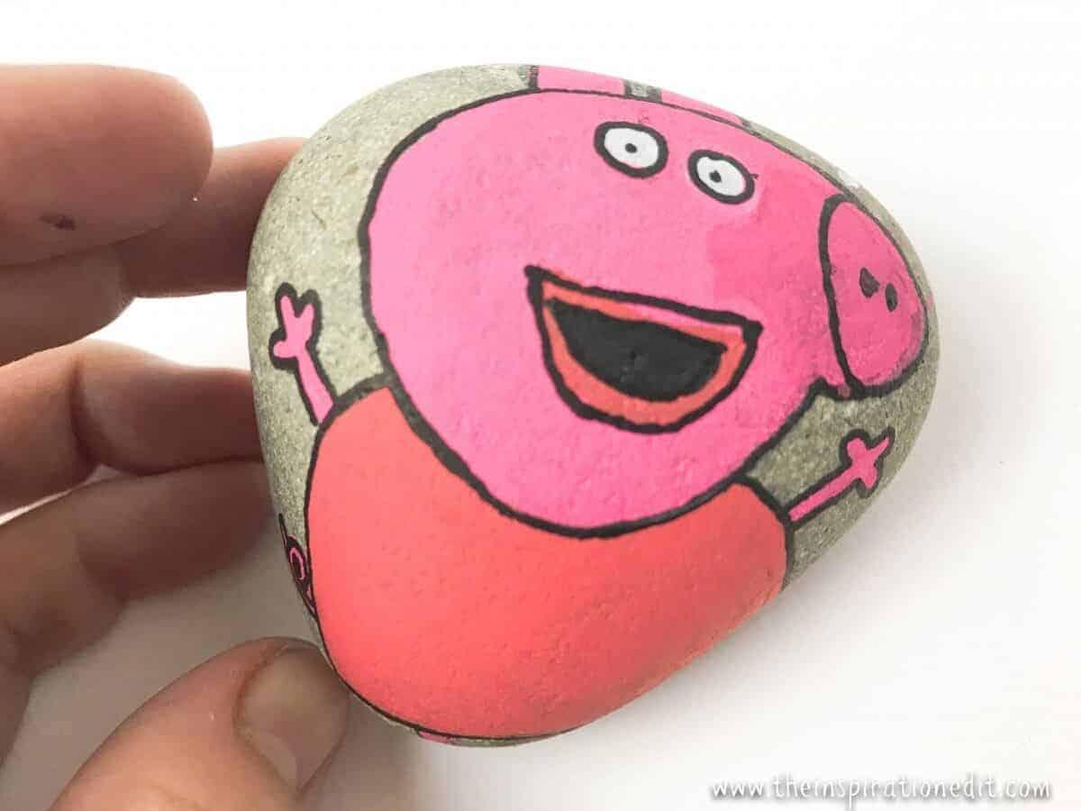 Cute Painted Characters Rocks