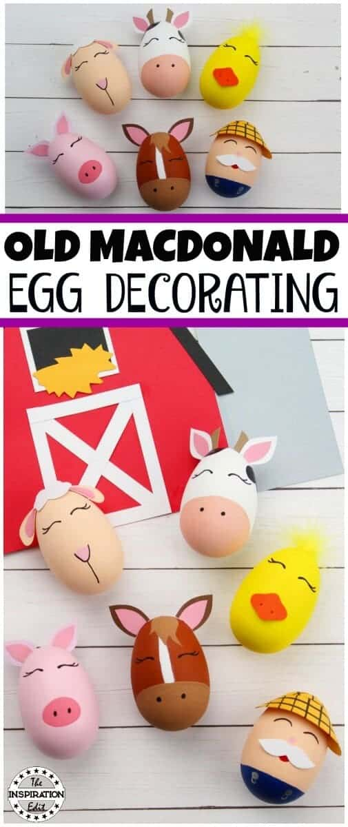 old macdonald egg decorating