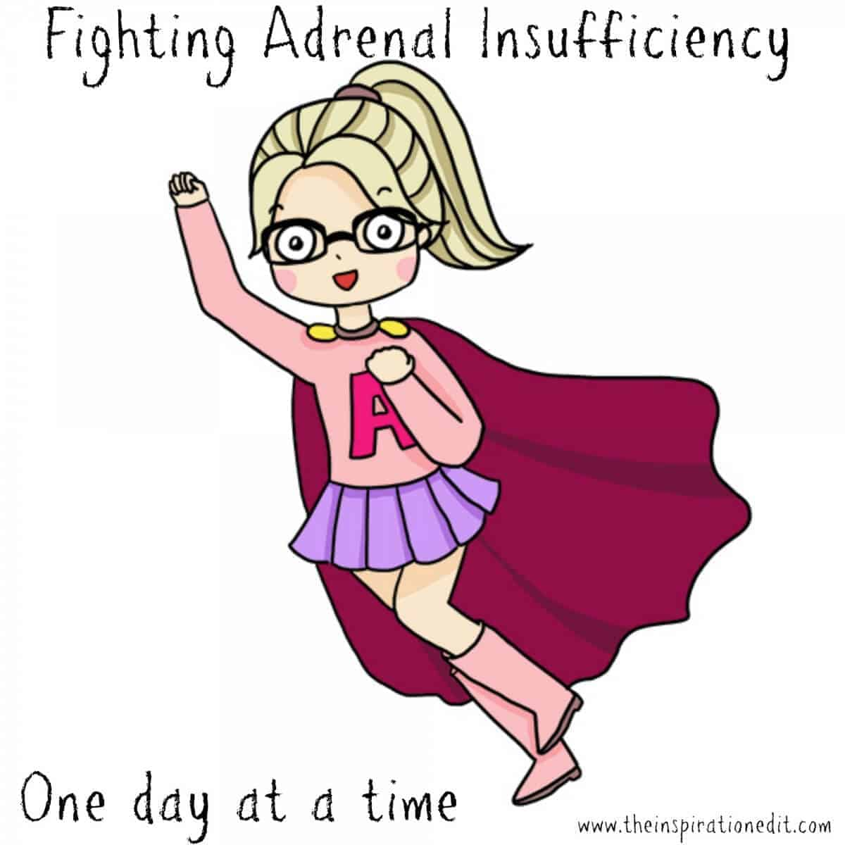 adrenal pump for adrenal insufficiency