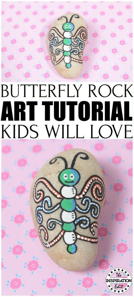 Butterfly Rock Stone Tutorial