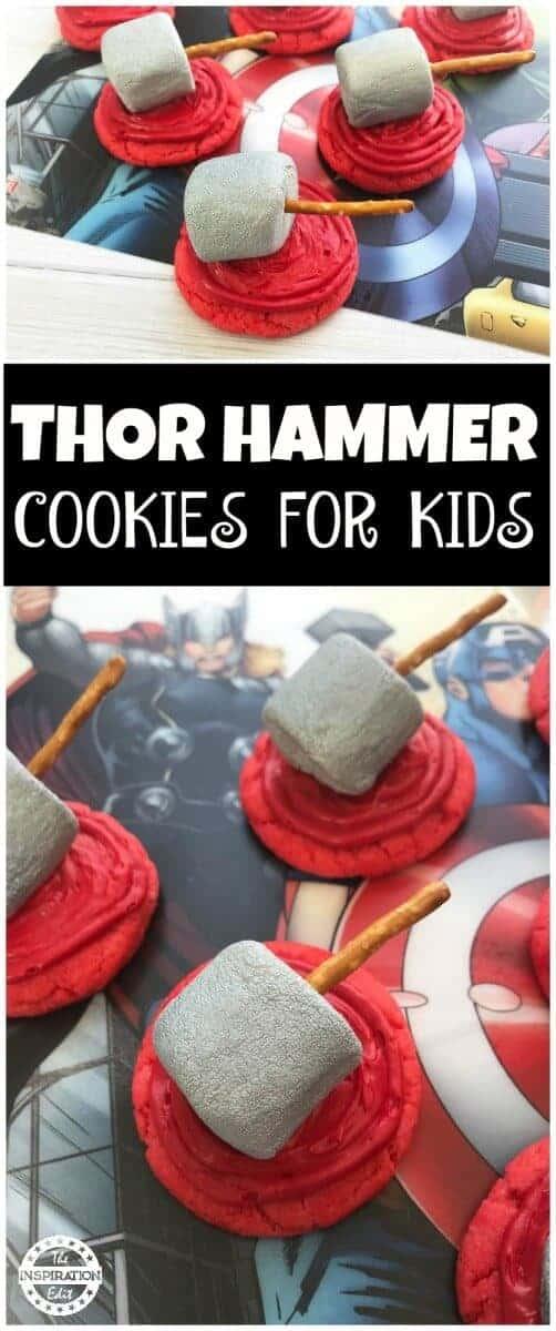 Thor Super Hero Cookies For Parties