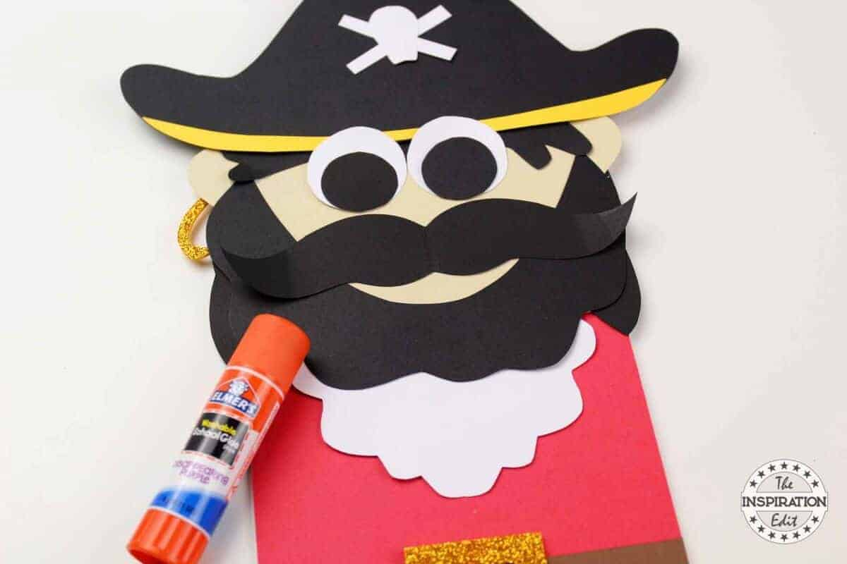 Captain Hook Paper Bag Pirate Puppet The Inspiration Edit