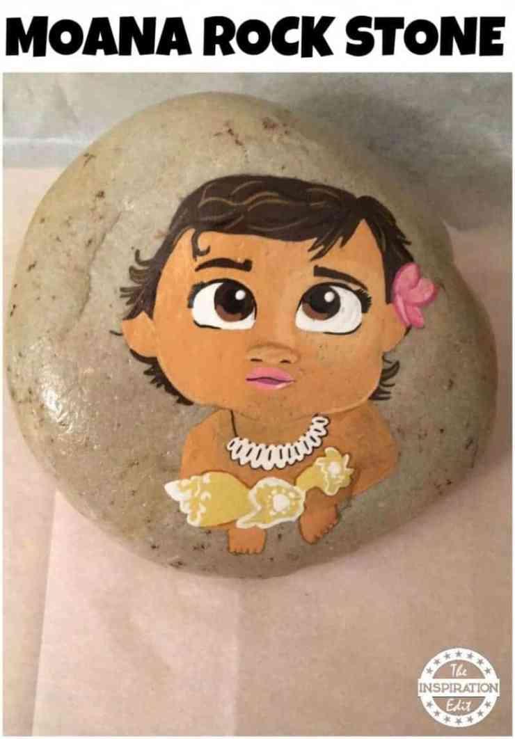 STONE 1 800x1148 - Disney Moana Rock Stone Painting
