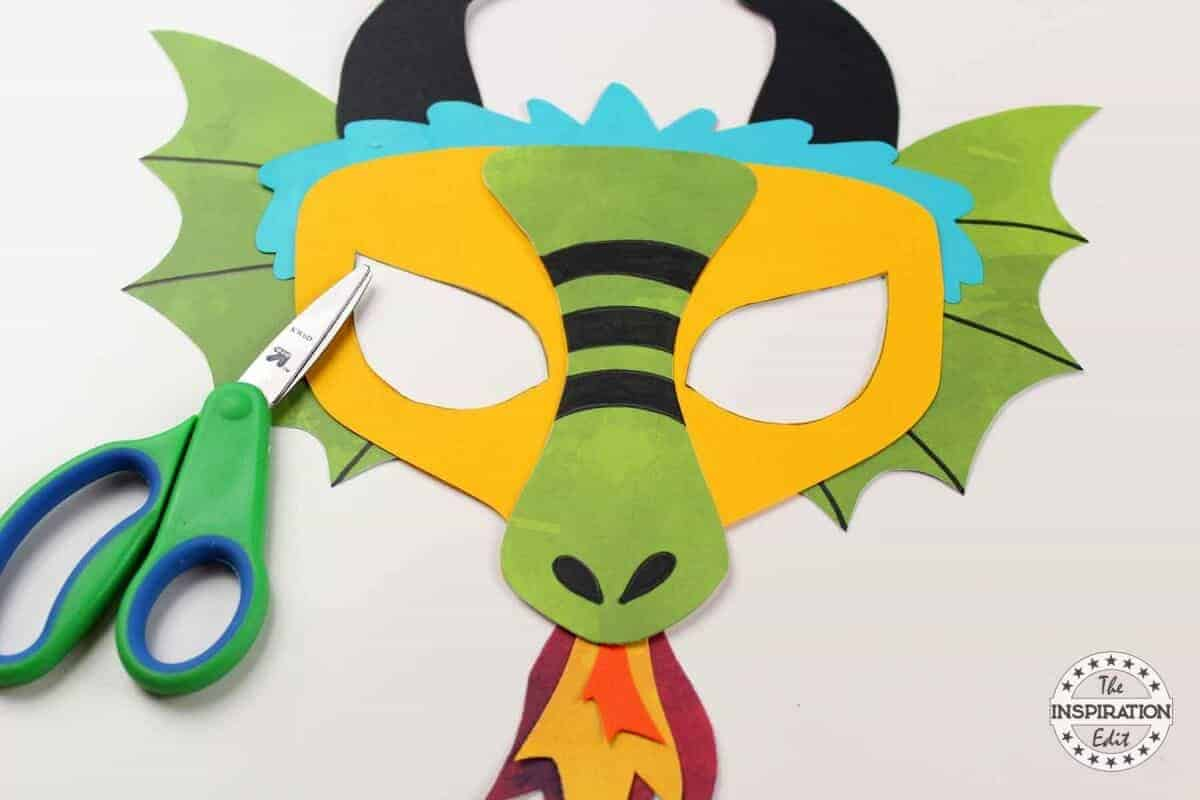 Chinese Dragon Craft For Kids The Inspiration Edit