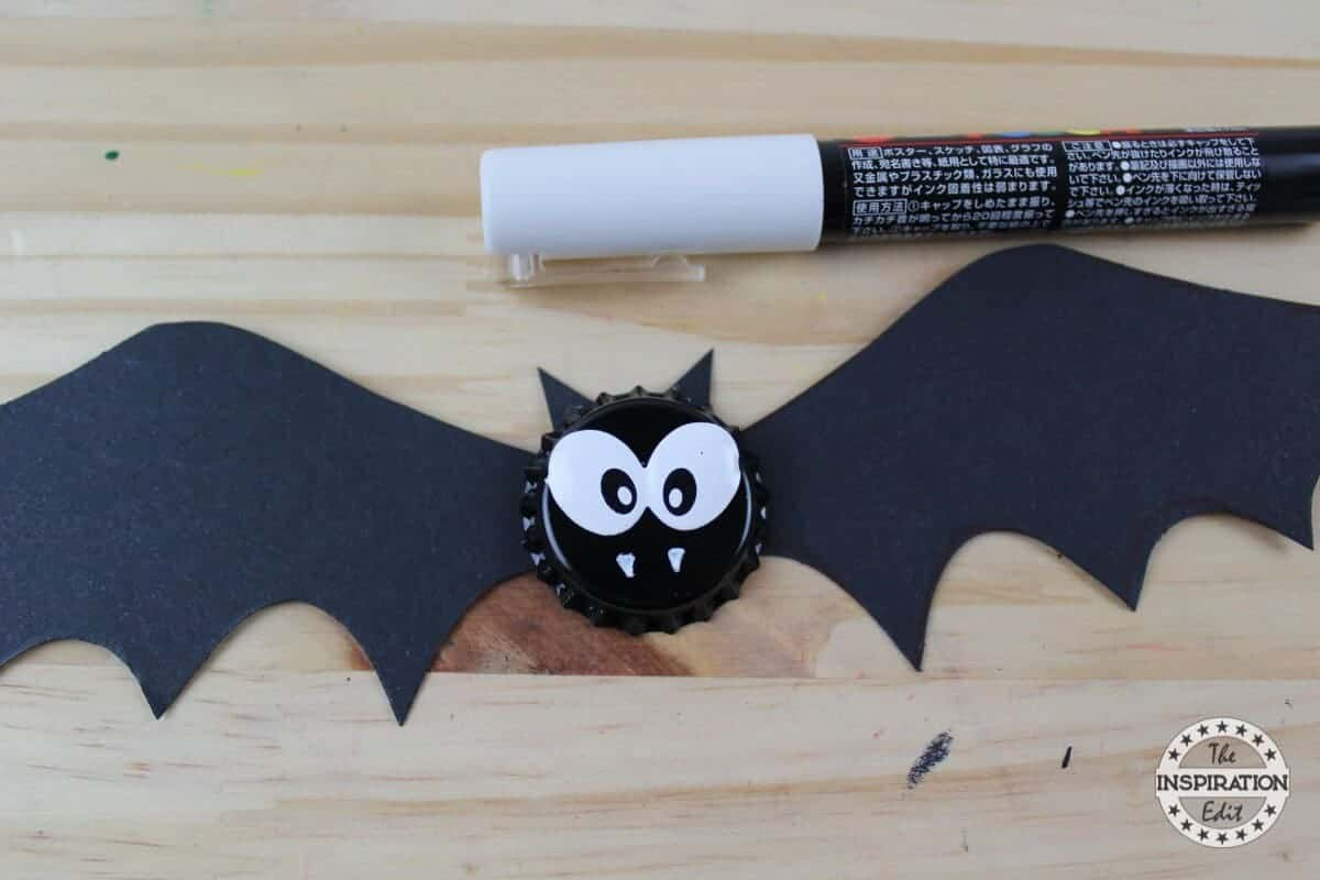 Halloween Craft Ideas For Toddlers Bat Magnet The