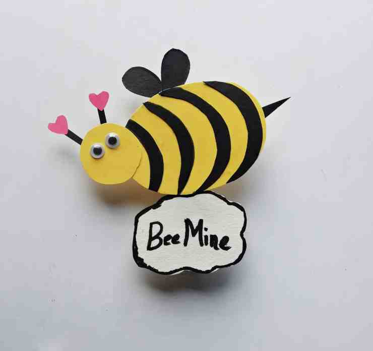 Step 10 - DIY Honey Bee Craft Idea For Valentines