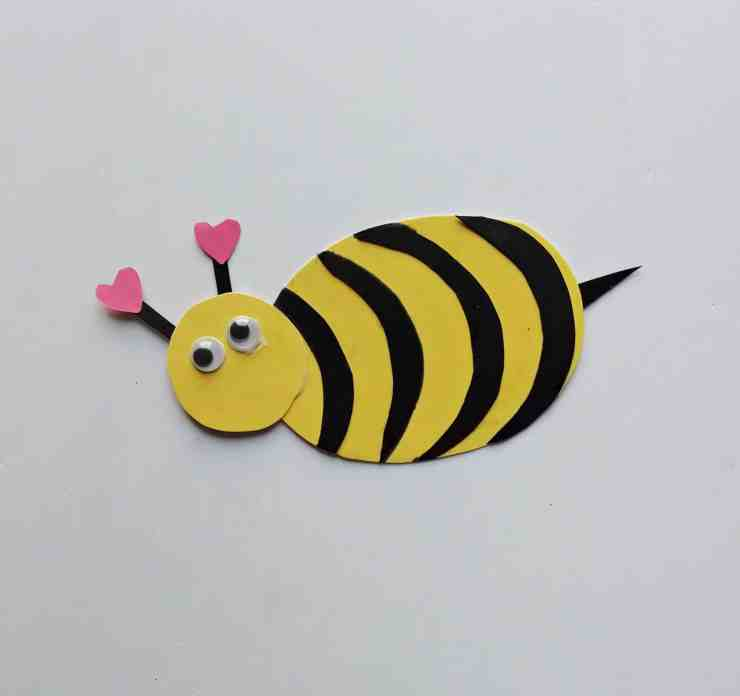 Step 5 - DIY Honey Bee Craft Idea For Valentines