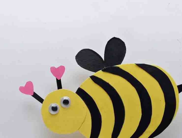 Step 7 - DIY Honey Bee Craft Idea For Valentines