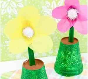 diy flower pot craft