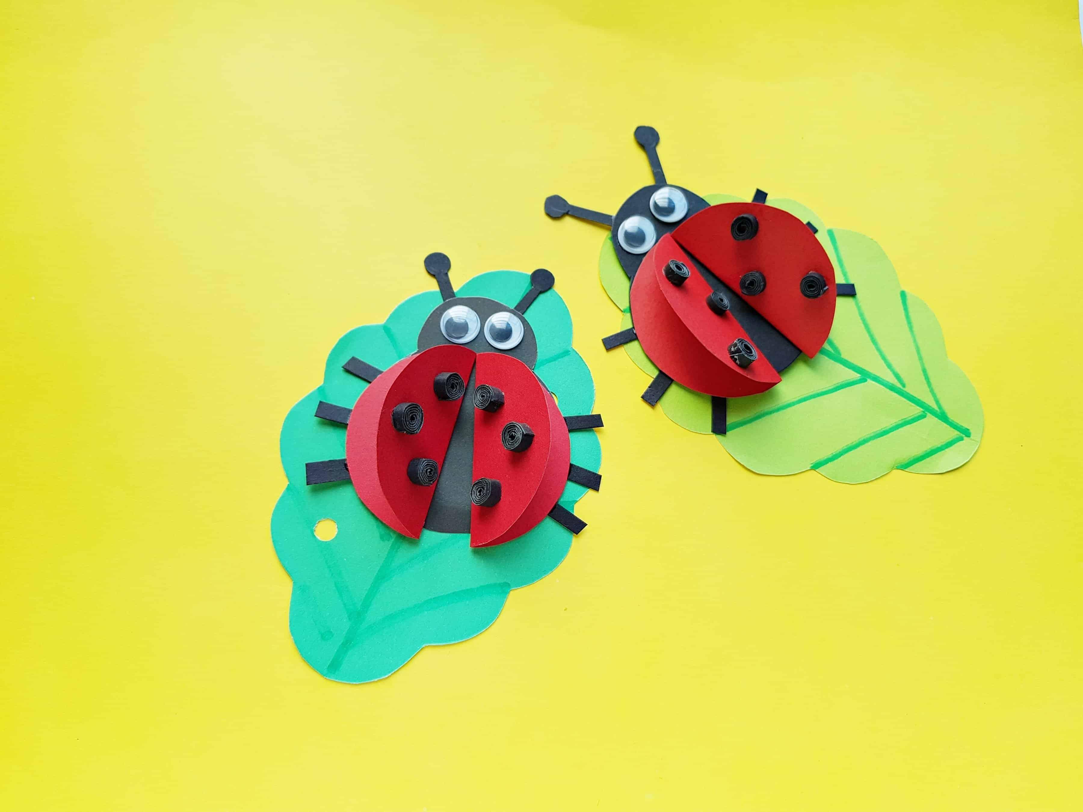 Easy Preschool Ladybug Craft The Inspiration Edit