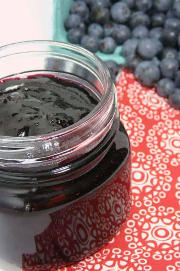 instant piot jam blueberry recipe