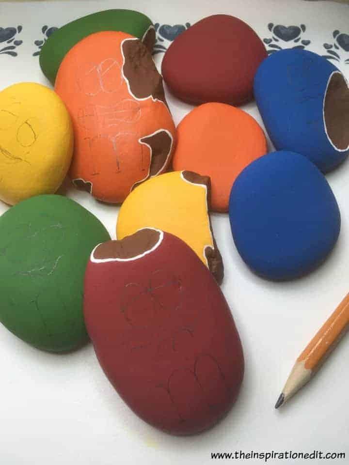 mnm 5 - M&M Painted Rocks By Barbara Beal
