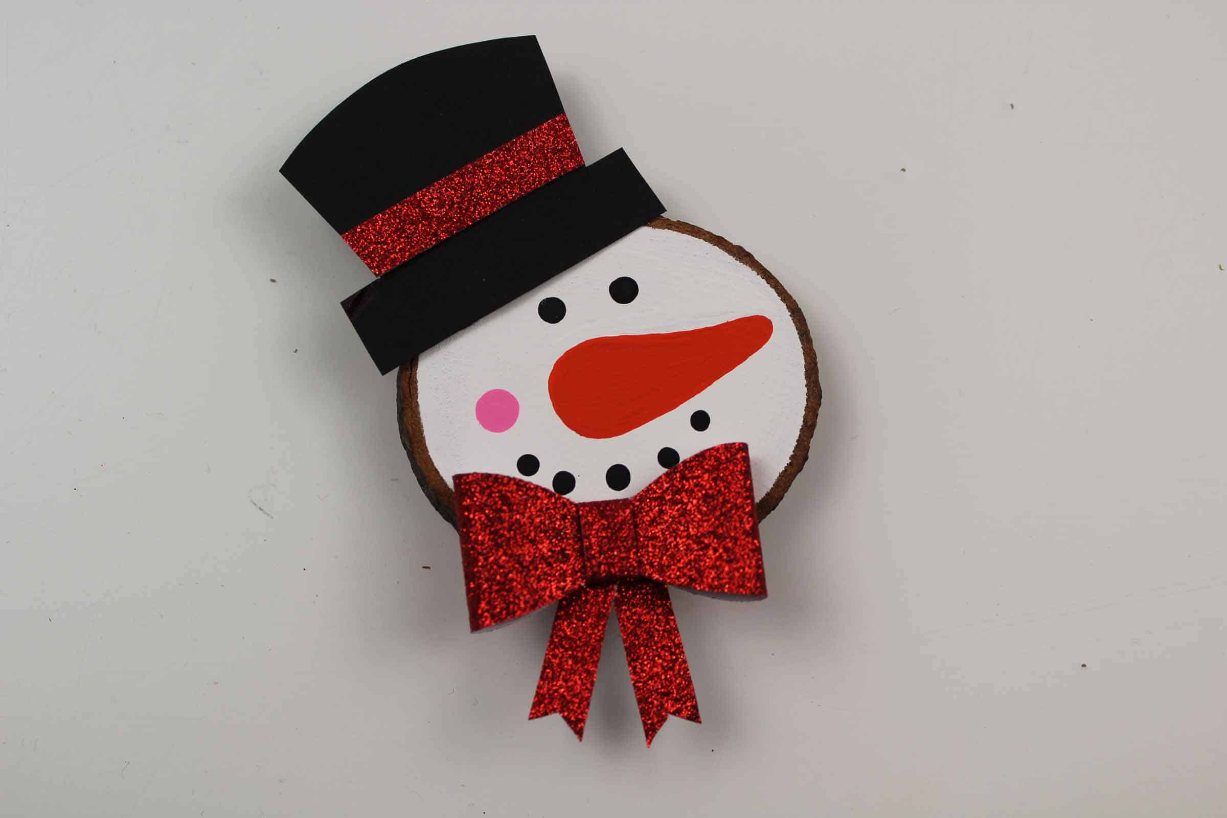 Diy Snowman Ornament For Kids The Inspiration Edit