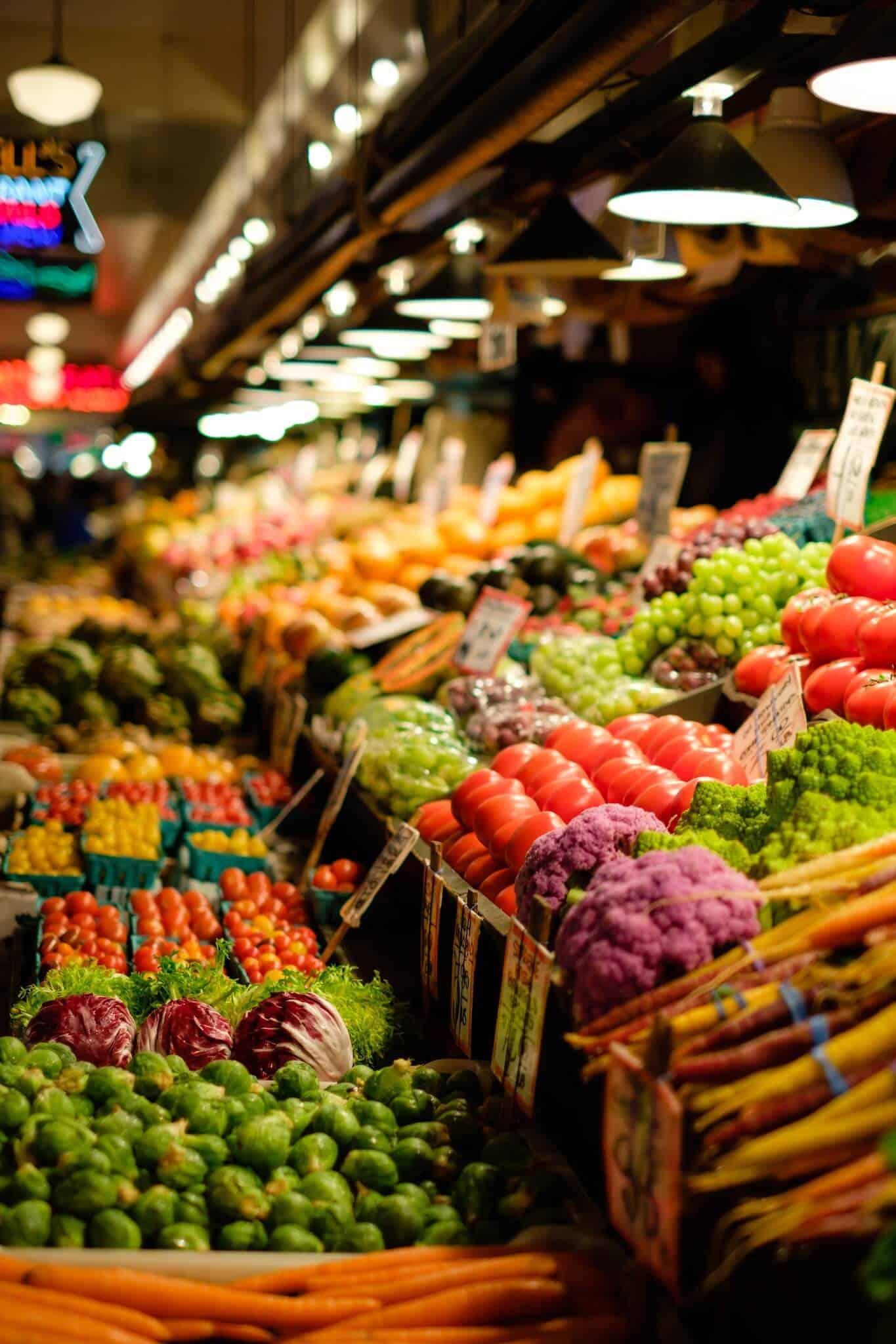 organic Instant Pot Vegetable Soup Ingredients