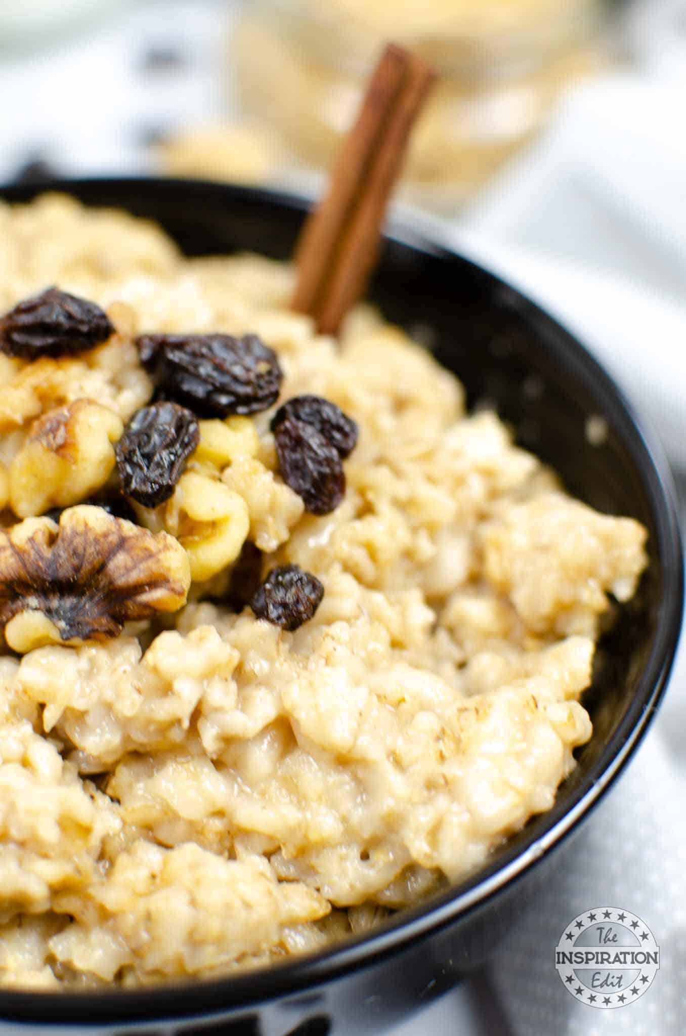 pressure cooker oatmeal recipe