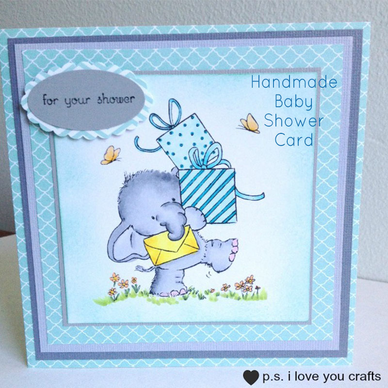 Custom Baby Shower Cards