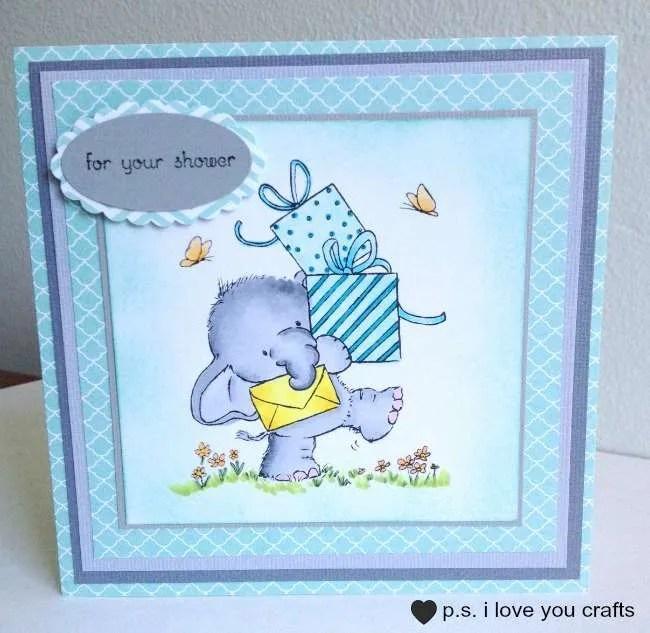 Handmade Baby Shower Card The Inspiration Vault